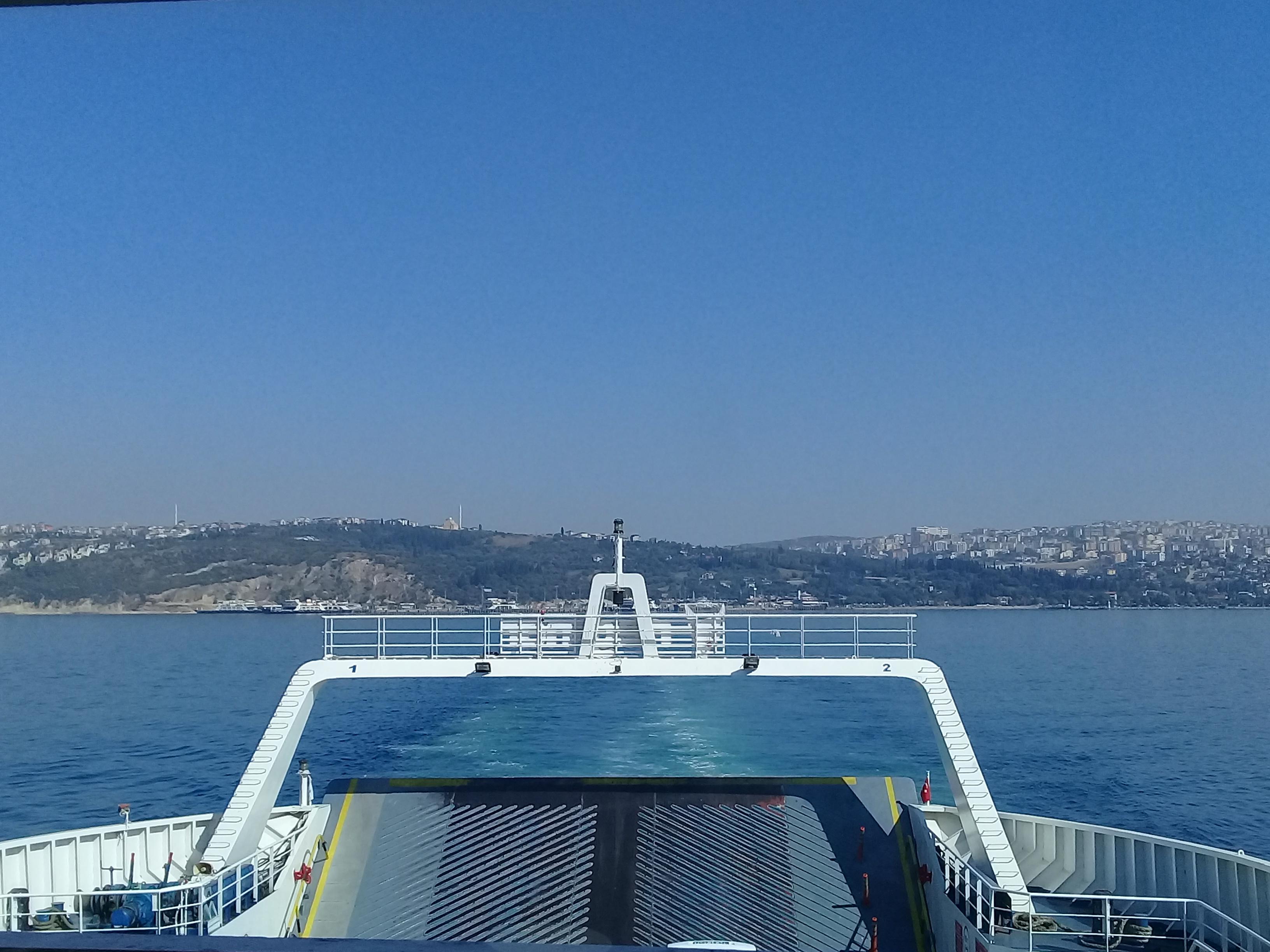Ferry from Istanbaul to Yalova
