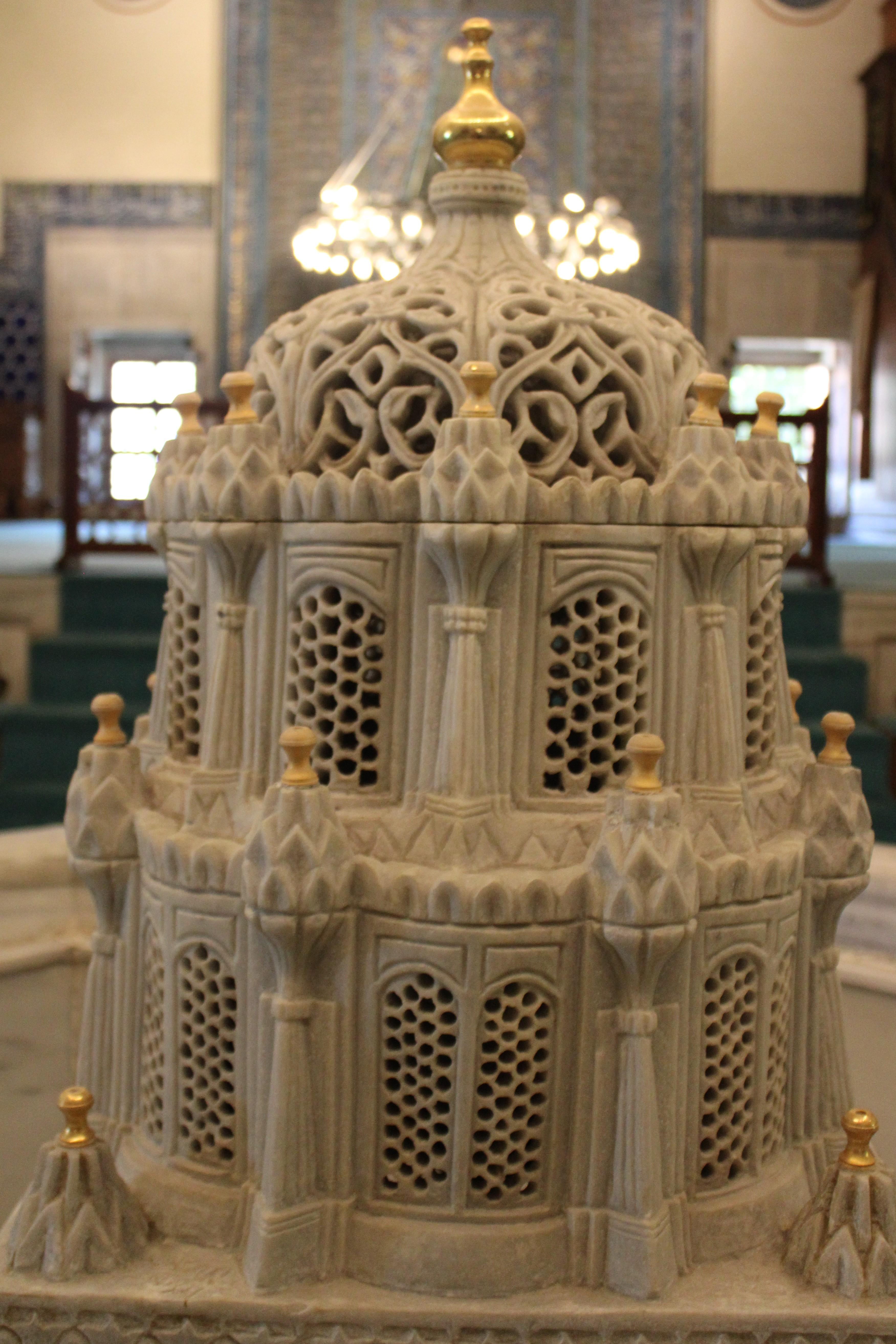 Sebil inside Yesil Cami